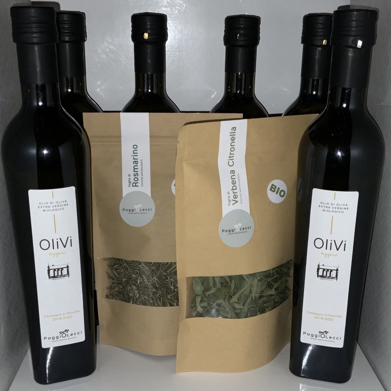 Organic delicacies from Tuscany