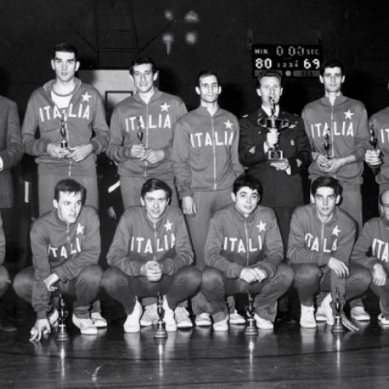 Italian Military Basketball Sweatshirt from Mid-1960s