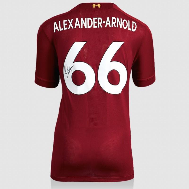 Alexander-Arnold's Liverpool 2019-20 Signed Shirt