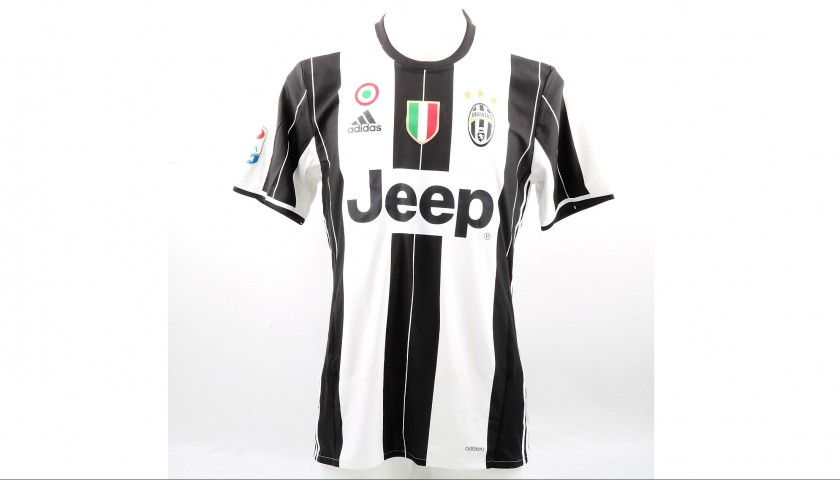 Dybala's Issued Juventus Shirt, 2016/17 Serie A