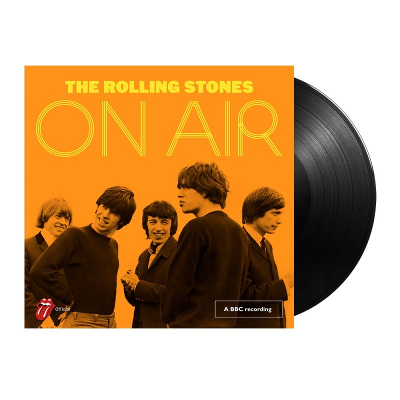 Rolling Stones On Air Record Signed by Mick Jagger