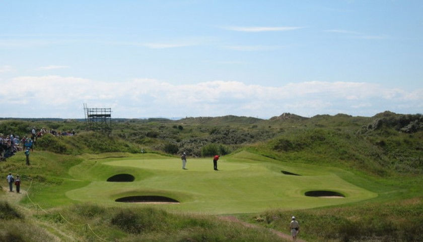 Play England's Greatest Links Courses With a Guest of Your Choice