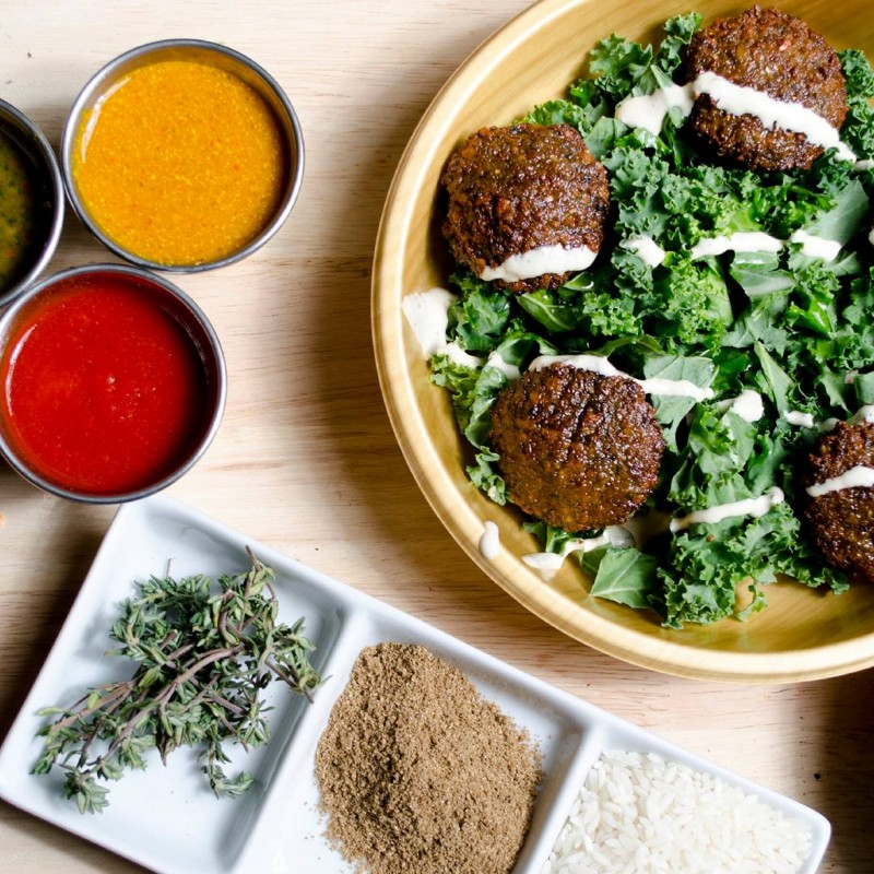 Catered Lunch for 25 People from Maoz Vegetarian New York