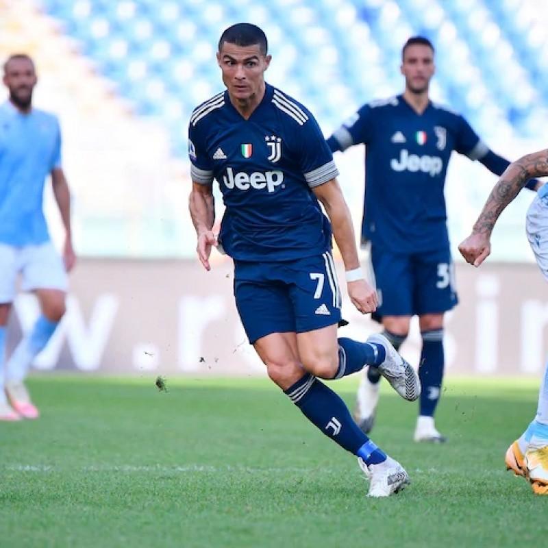 Ronaldo's Juventus Match Shirt, 2020/21