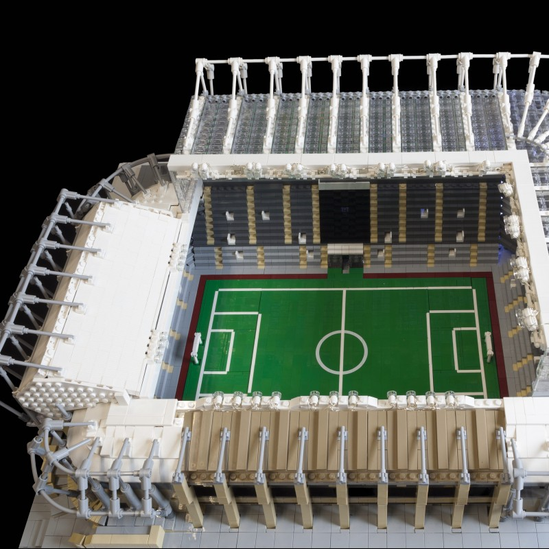 Replica of Newcastle Stadium St. James Park