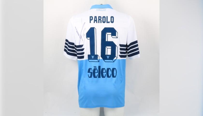 Parolo's Lazio Signed Match Shirt, Serie A 2018/19 - CharityStars