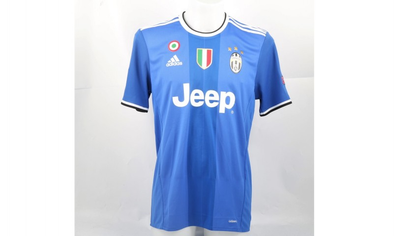 Marchisio's Juventus Shirt, Issued/Worn CL 2016/17