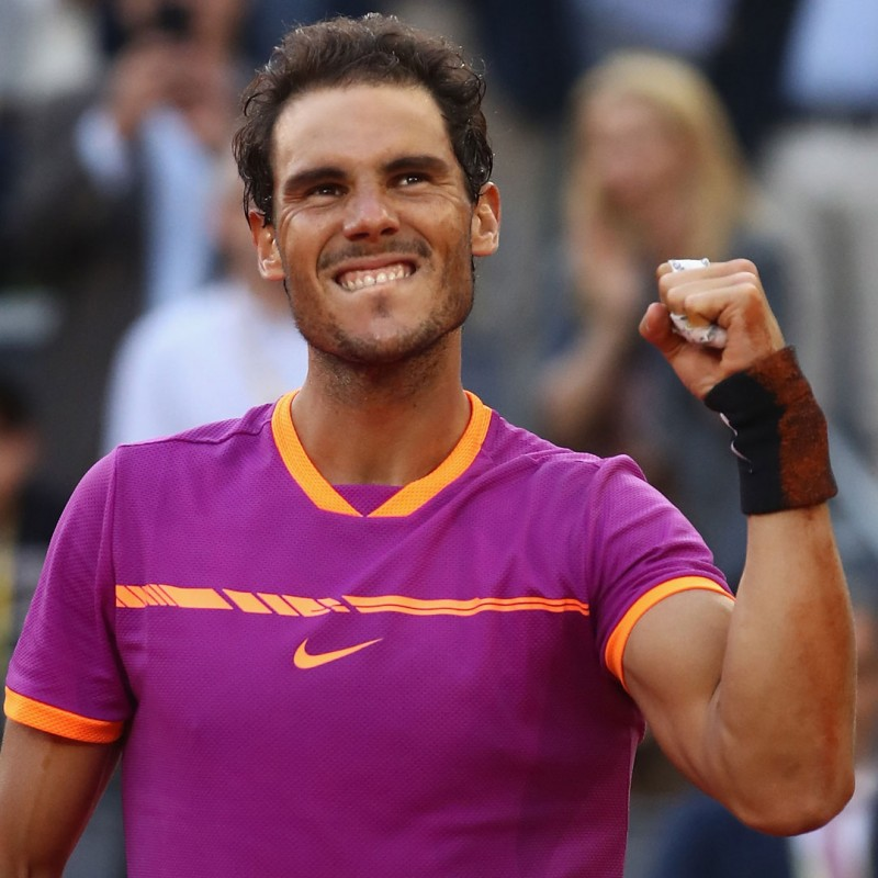 Head ATP Tennis Ball Signed by Rafael Nadal