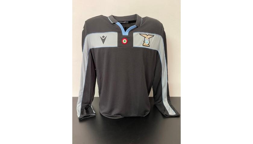 Strakosha's Lazio Match Shirt, 2019/20