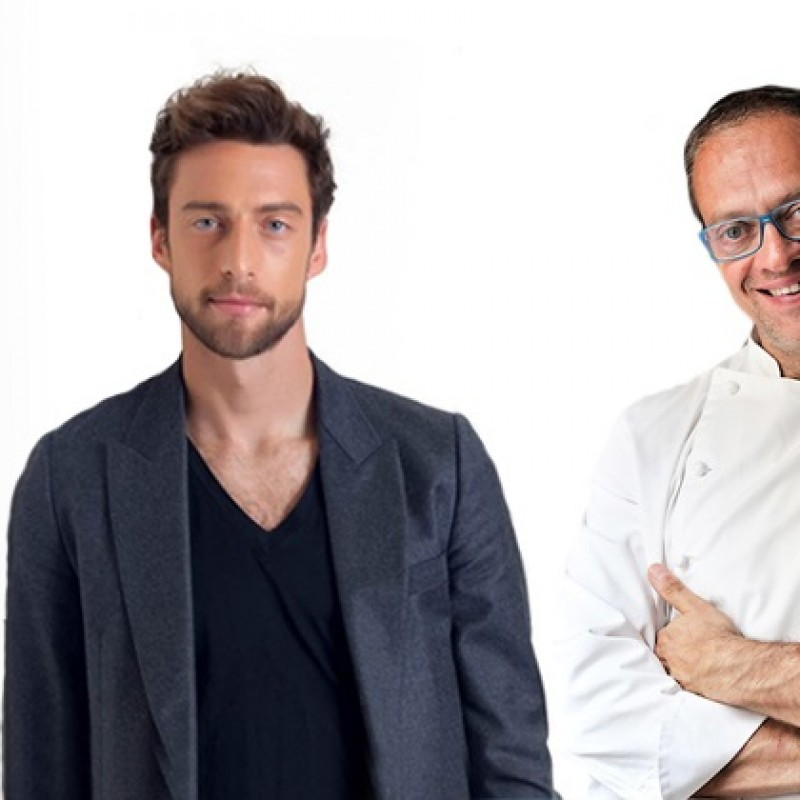 A dinner for 2 in Turin at Nicola Batavia restaurant Il Birichin and cocktail with the football champion Claudio Marchisio