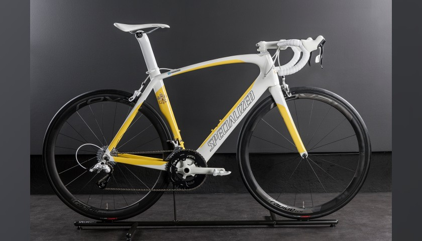 Peter Sagan's Specialized Bike Donated to and Signed by Pope Francis
