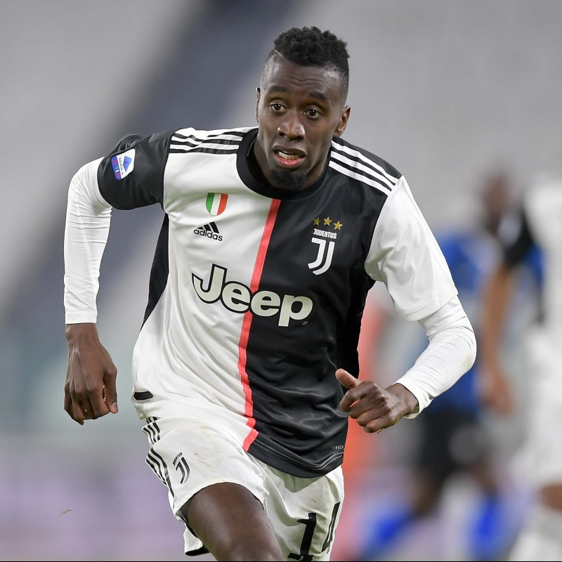 Matuidi's Juventus Match Worn and Unwashed Shirt, 2019/20