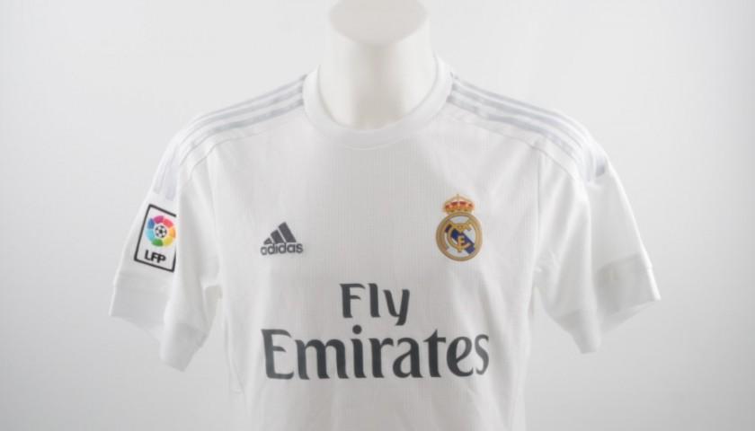 Cristiano Ronaldo Signed Real Madrid Home Shirt 2015 2016 Charitystars