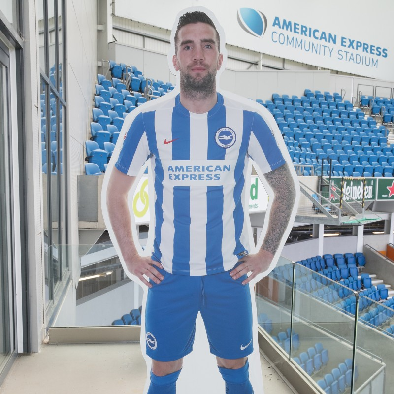 Shane Duffy Signed Cardboard Cut-Out