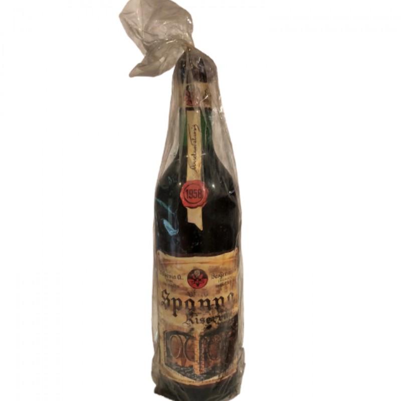 Bottle of Spanna Riserva, 1958 - Valsesia