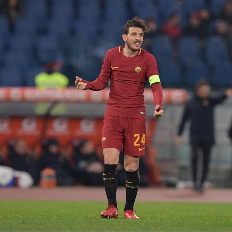 Florenzi's Roma Match Shirt, TIM Cup 2017/18
