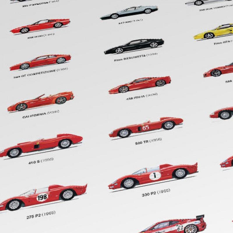 Ferrari Car Giant Art Print