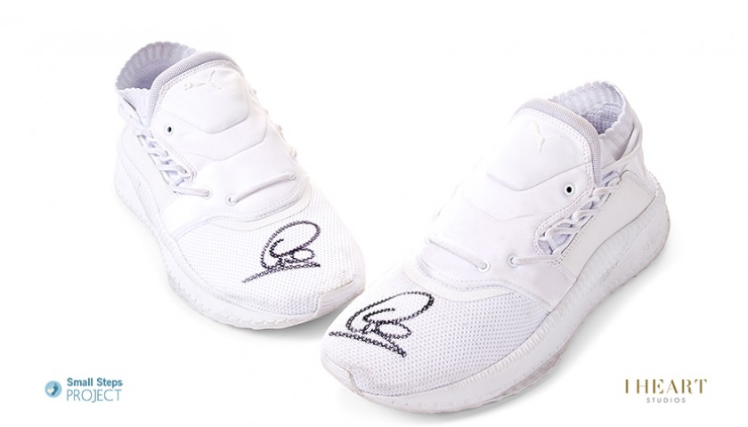 Lewis Hamilton Signed Shoes