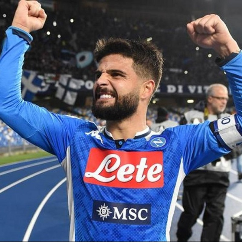 Match-Ball Napoli-Juventus 2019/20 - Signed by Insigne