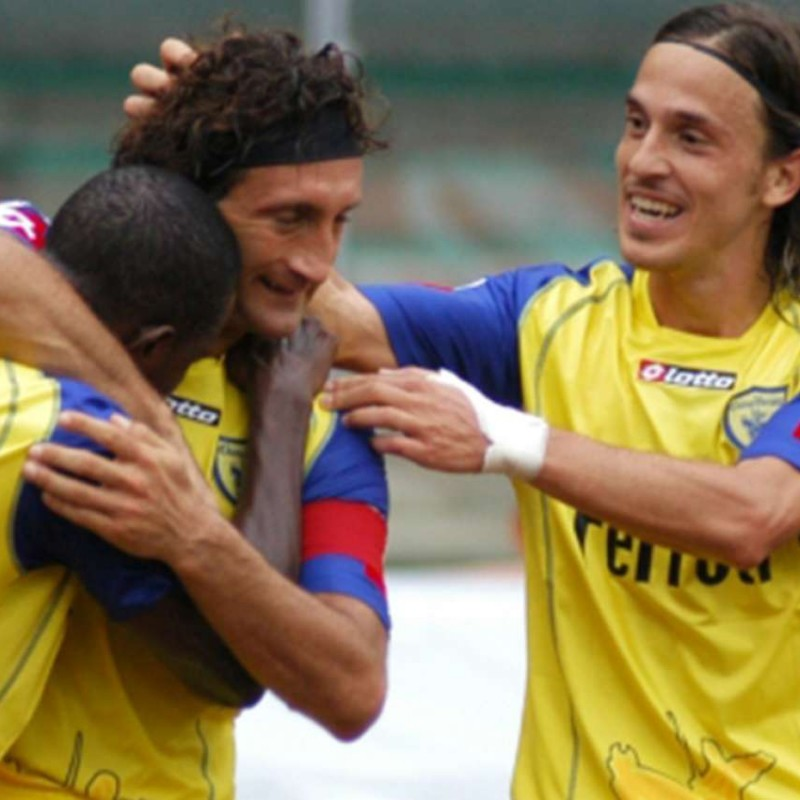 Sammarco's Chievo Match Shirt, 2005/06