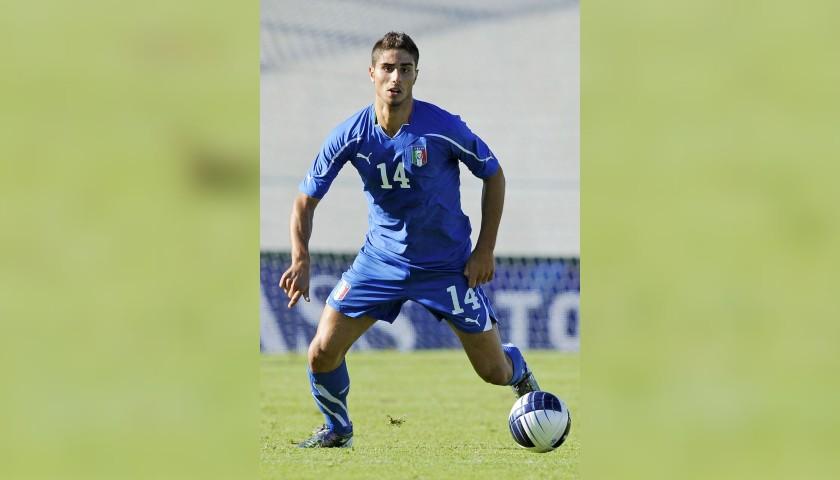 Capuano's Italy U21 Match Shirt, 2010