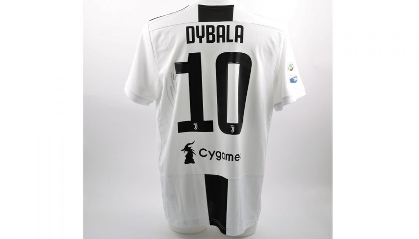 new product eb395 5c0f7 Dybala's Official 2018/19 Juventus Signed Shirt - CharityStars