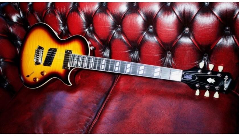 Heart's Nancy Wilson's Fanatic Epiphone Guitar
