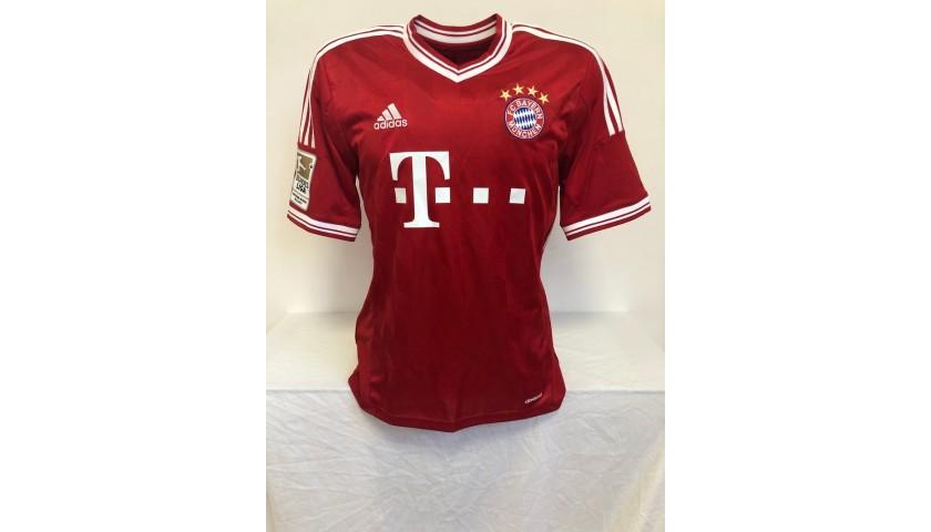 Götze's Official Bayern Munich Signed Shirt, 2013/14