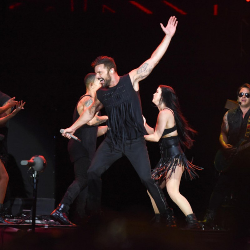 Sit in Ricky Martin's Personal Seats in Houston, TX