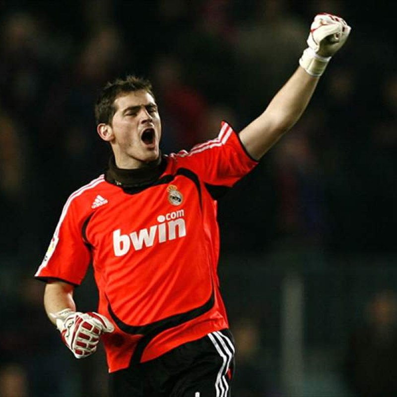 Casillas' Official Real Madrid Signed Shirt, 2008/09