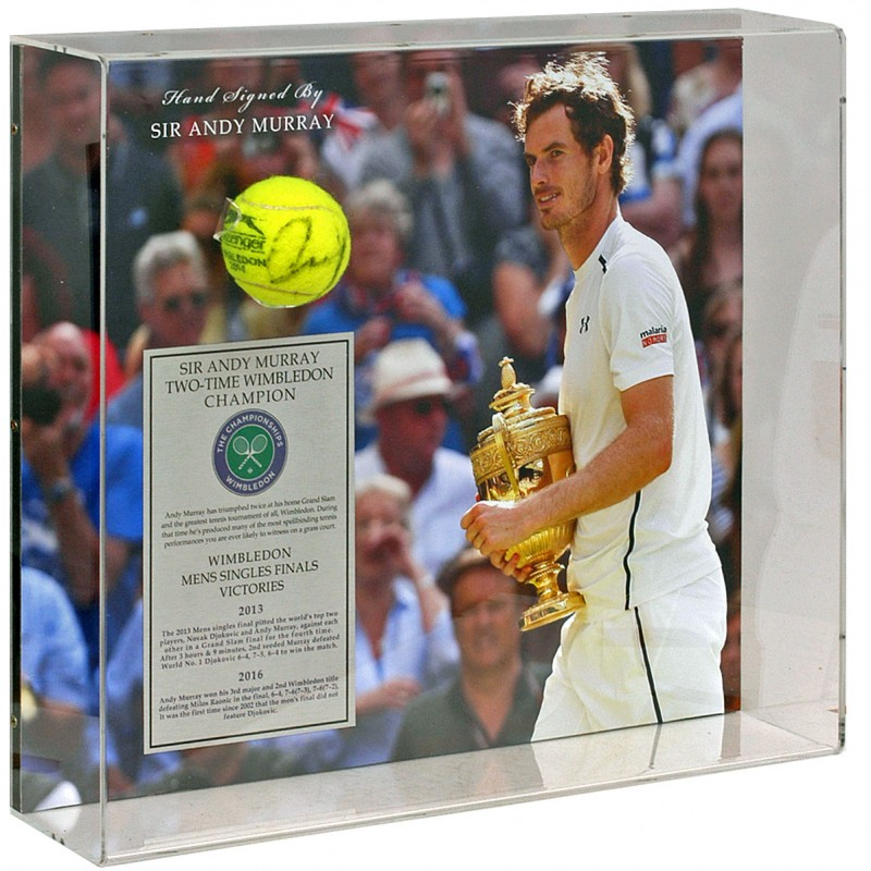 Sir Andy Murray Hand Signed Tennis Ball