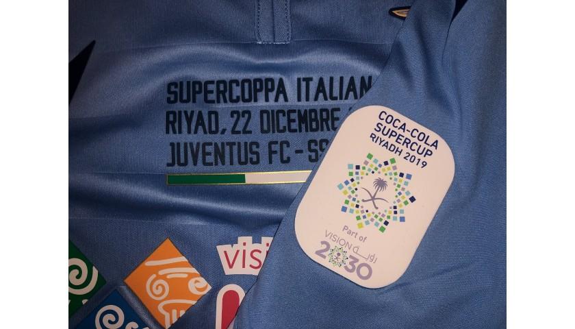 Correa's Lazio Match Shirt, Italian Super Cup 2019