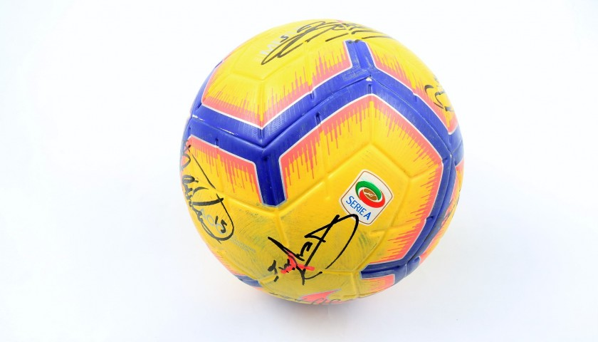 Serie A Matchball - Signed by Atalanta