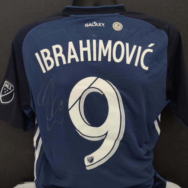 Zlatan Ibrahimovic Autographed LA Galaxy Jersey