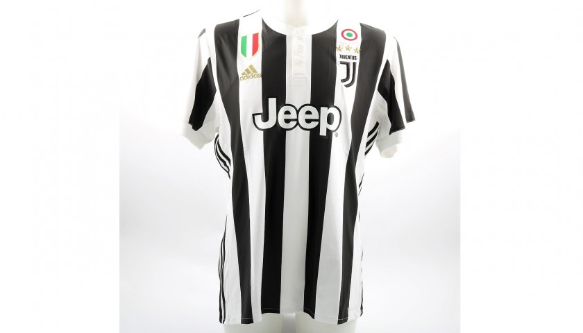 e37d3ca47 Official 2017 18 Juventus Shirt Signed by Dybala - CharityStars