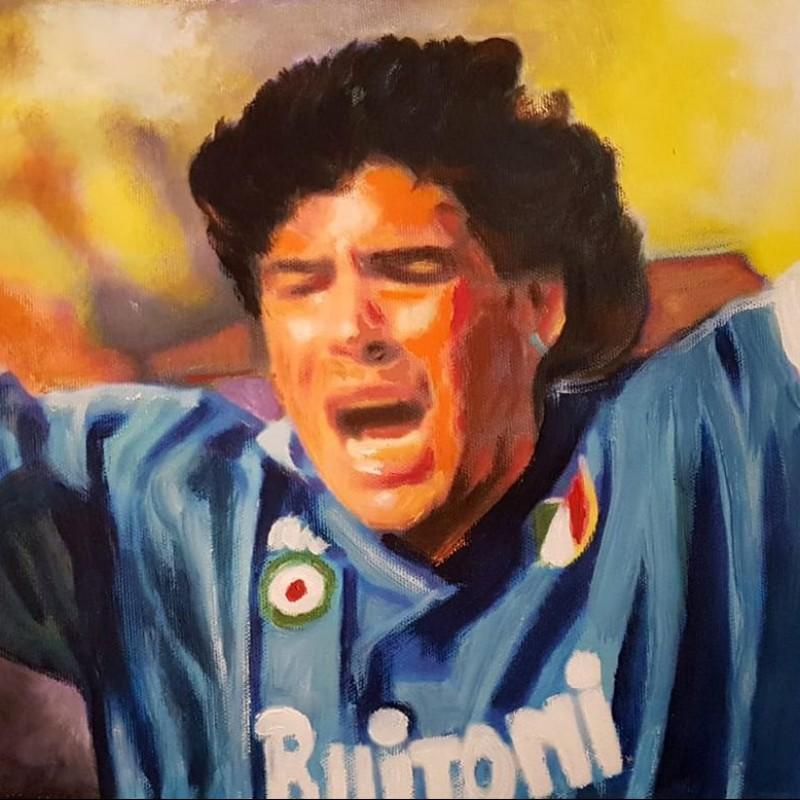 """Maradona"" by Antonello Arena"