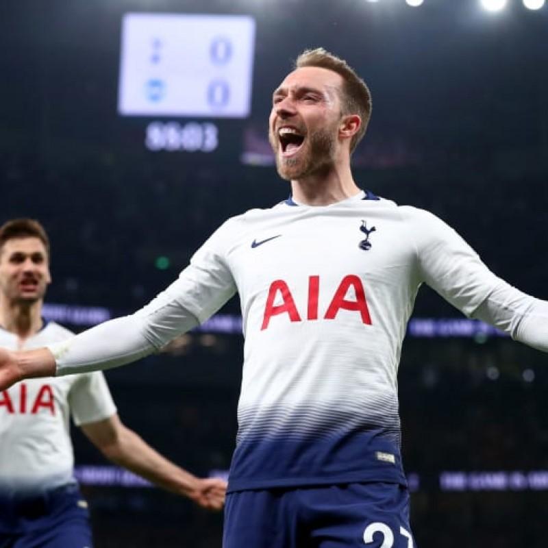 Christian Eriksen Signed Tottenham Hotspur Shirt