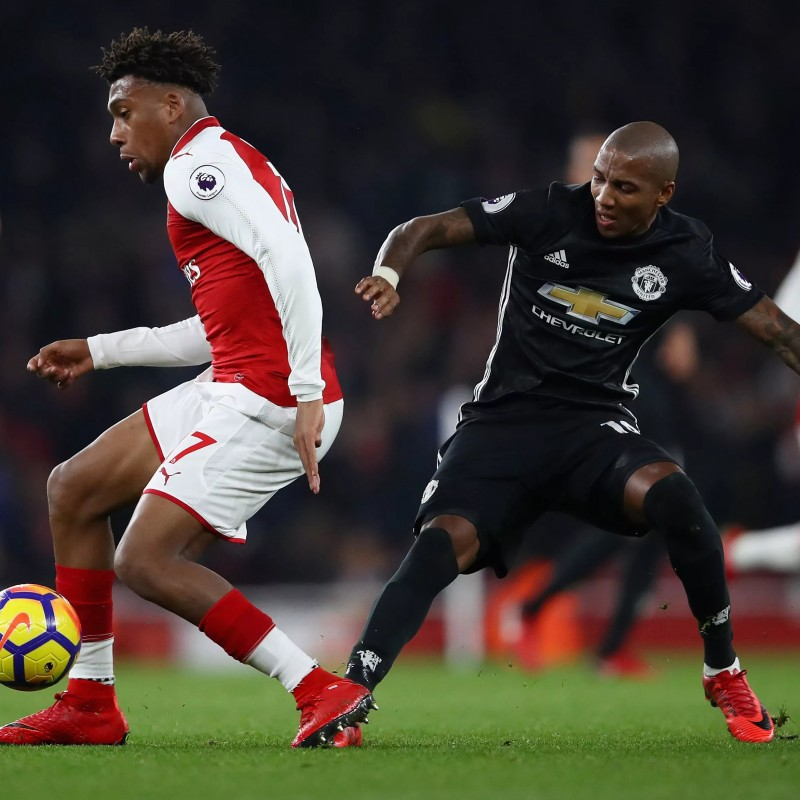 Completo gara Young, Arsenal-Manchester United 2017