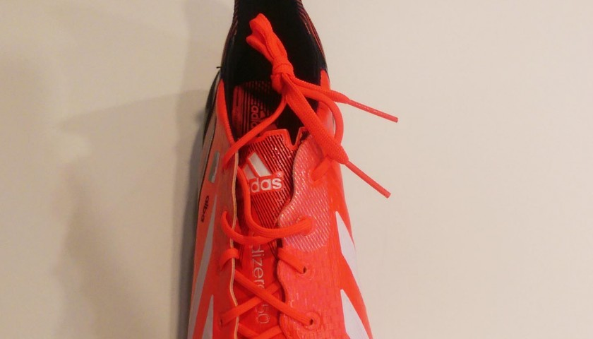 Adidas Football Boot Personalised for Gareth Bale - Signed - CharityStars 89b29487ea8