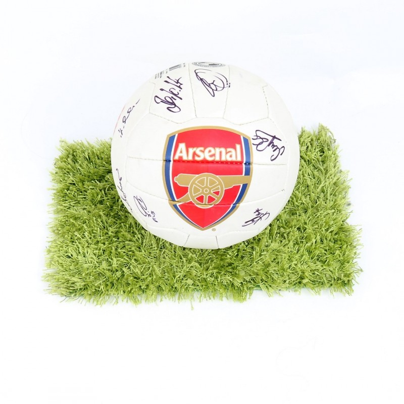 Official 2016/17 Arsenal Ball Signed by the Arsenal Legends