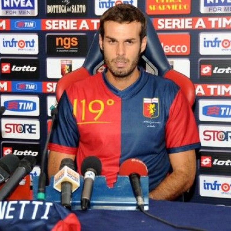 Ferronetti's Match Shirt, Genoa-Galatasaray 2012 - 119 Years