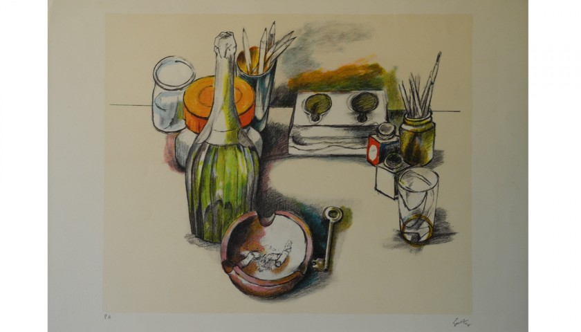 """""""Natura morta"""" by Renato Guttuso"""