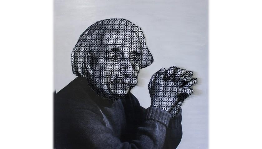 """""""Albert Einstein"""" by Alessandro Padovan"""