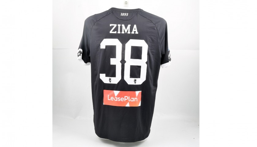 Zima's UNWASHED Special Genoa-Sampdoria Bench-Worn Shirt