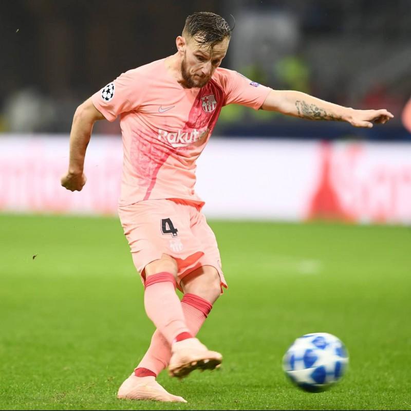 Rakitic's Match Shirt, Inter-Barcelona 2018