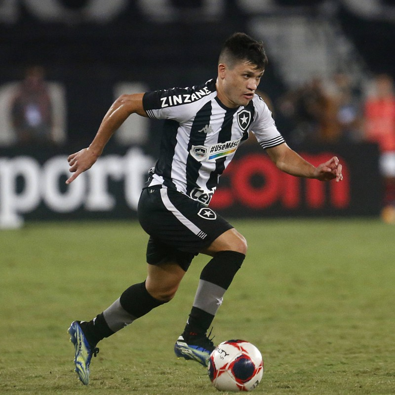 Ronald's Worn Shirt, Botafogo-Vitoria 2021