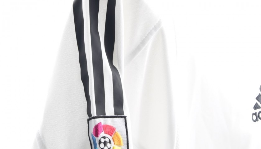 053904ed233 Zinedine Zidane Signed Official Replica Real Madrid 03 04 Shirt ...