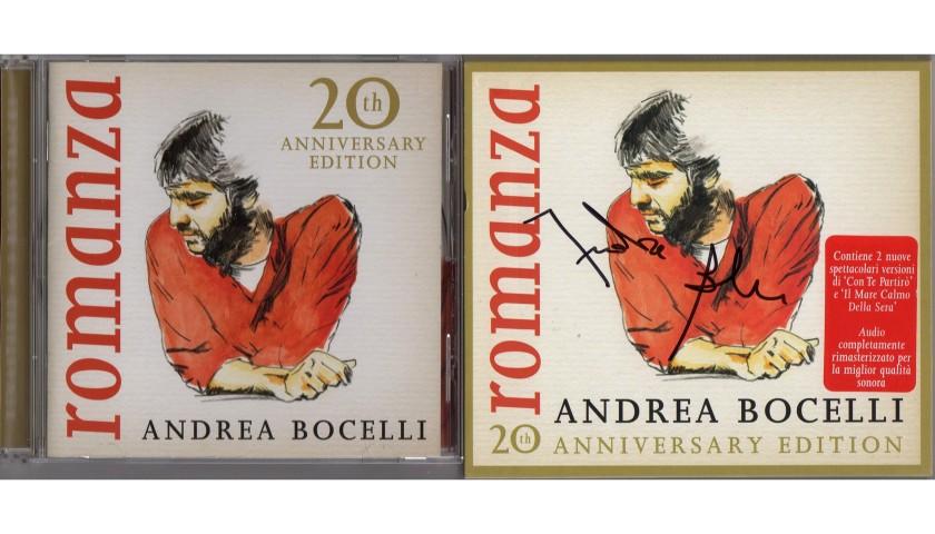 'Romanza' Album - Signed by Andrea Bocelli