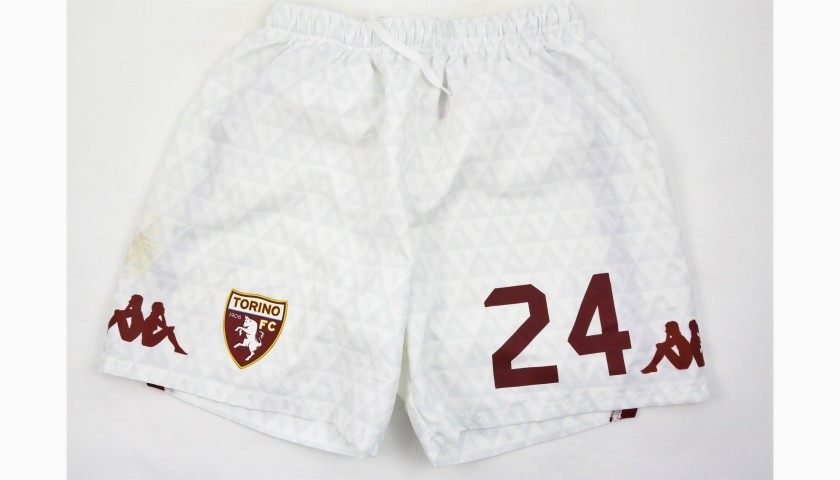Moretti's Torino Worn Shorts, 2018/19 + Football