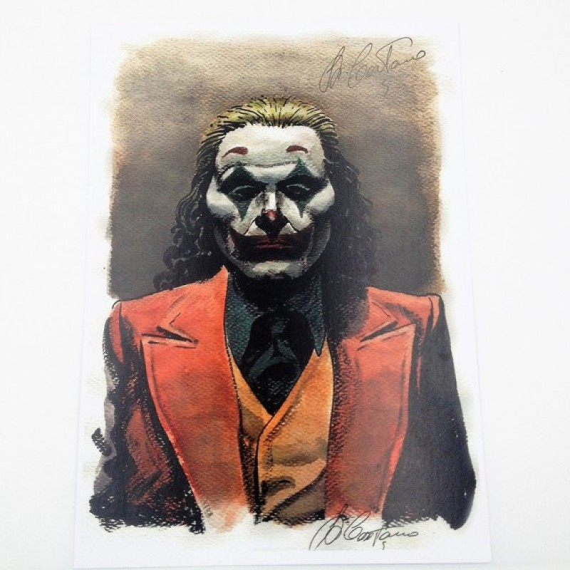 Joker - Limited Edition Board Signed by Giampiero Casertano